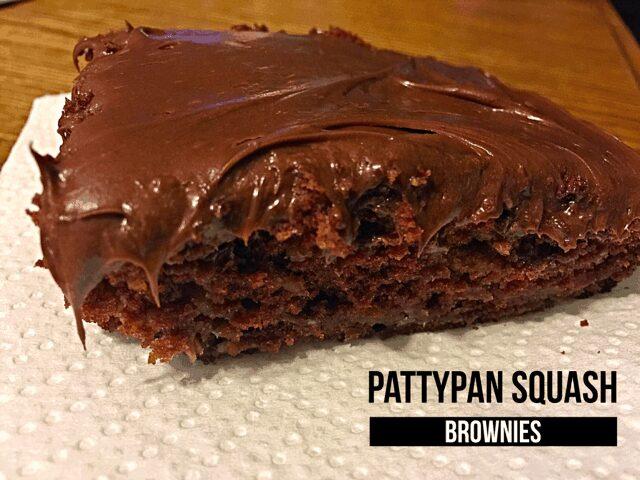 Pattypan Squash Brownies