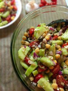 greek garbanzo salad recipe