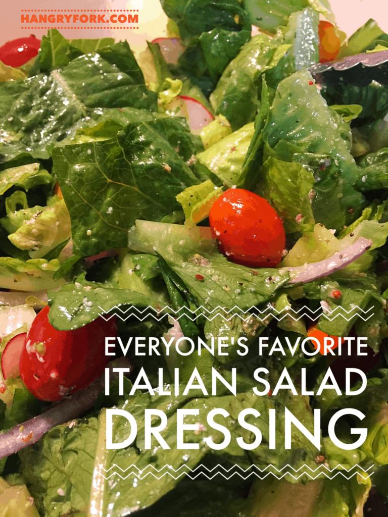 Everyones Favorite Italian Salad Dressing