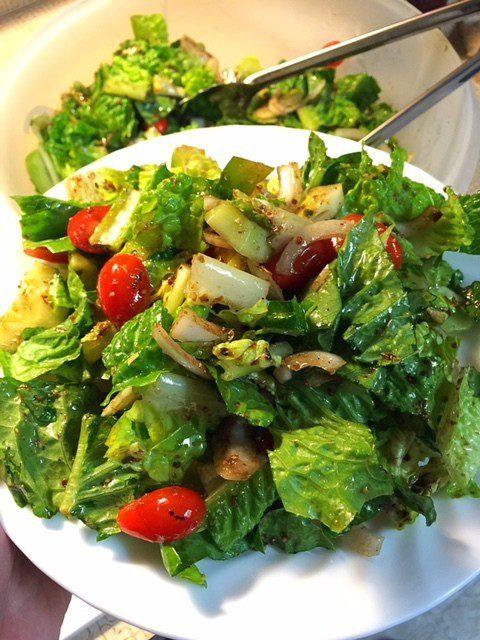 Balsamic Vinegar Salad Dressing