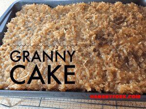 Pineapple and Peaches Granny Cake