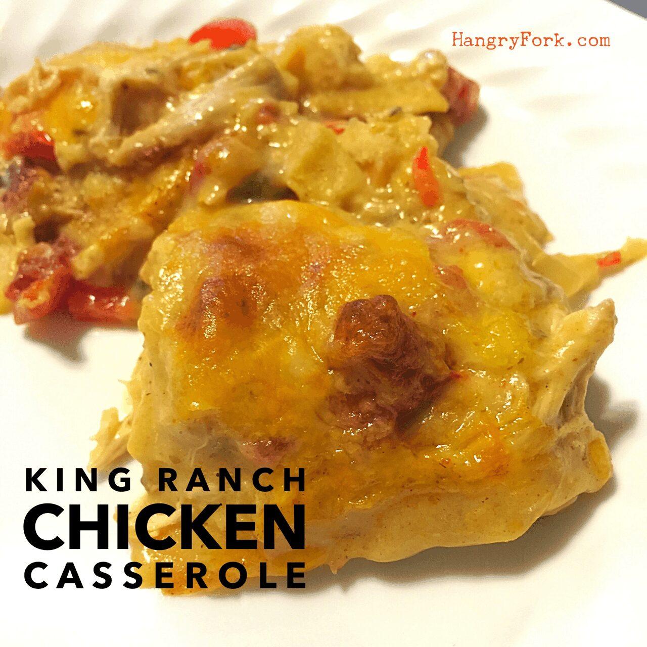 King Ranch Chicken Casserole