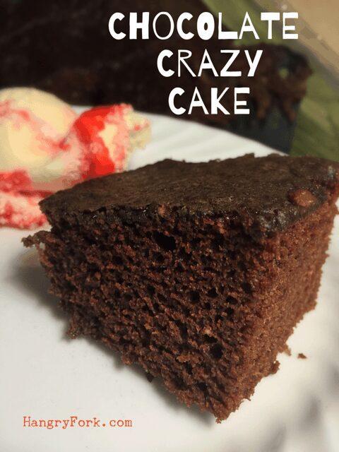 Amazing Chocolate Crazy Cake