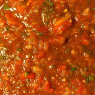 Homemade Mexican Restaurant Style Salsa