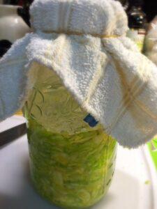 Raw Homemade Sauerkraut