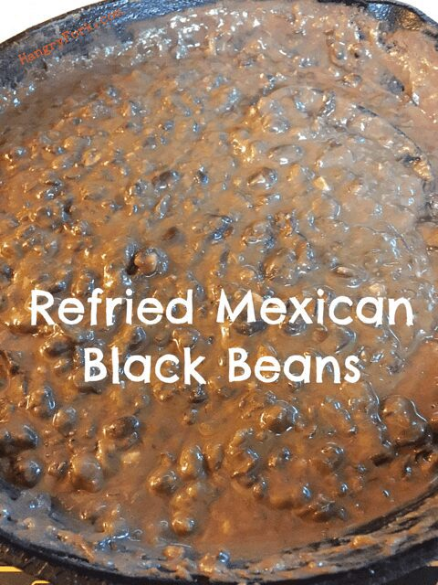 Refried Mexican Black Beans