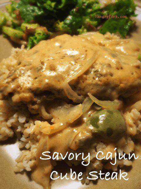 Savory Cajun Cube Steak Recipe