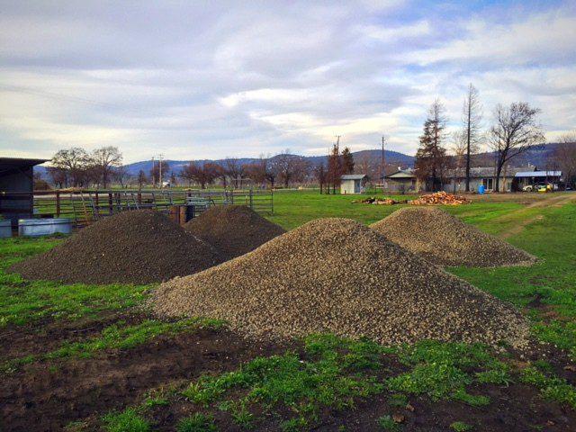 Base Rock for Barn