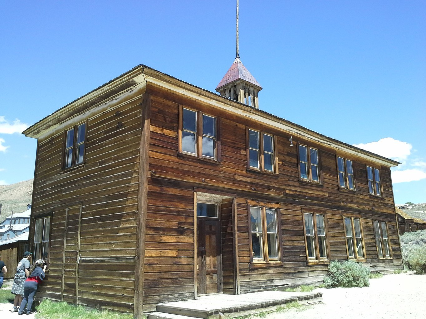 Bodie Ghost Town Old Schoolhouse