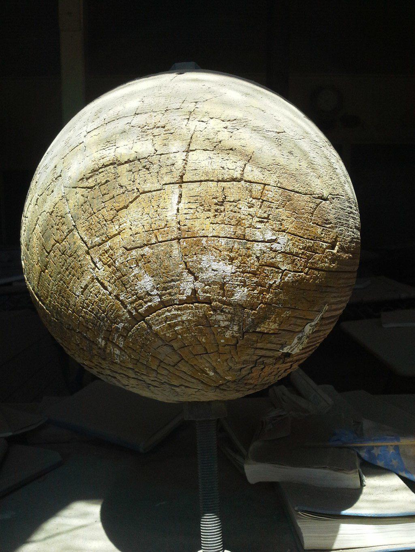 Bodie California Schoolhouse Globe