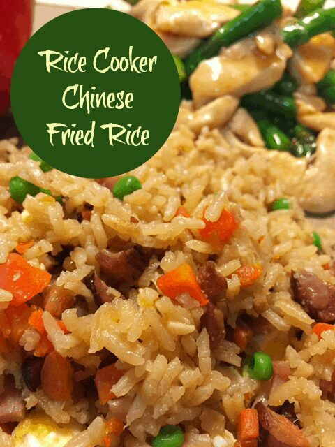 Rice Cooker Chinese Fried Rice