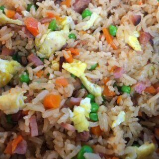 Chinese Fried Rice in Rice Cooker