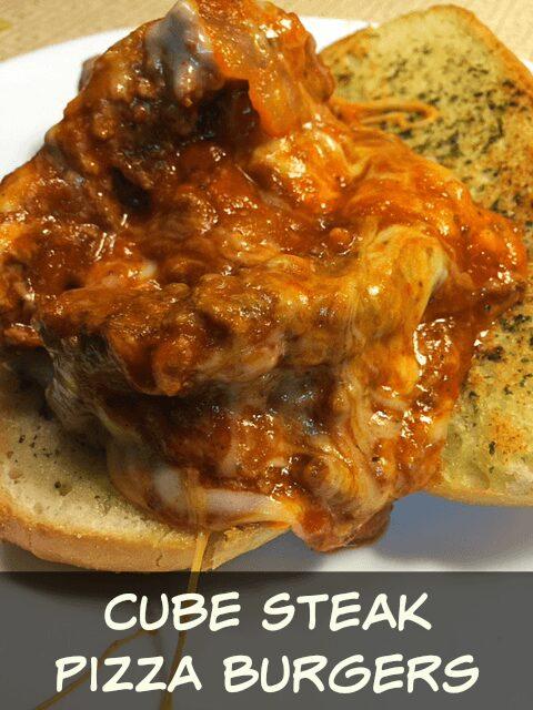 Cube Steak Pizza Burger