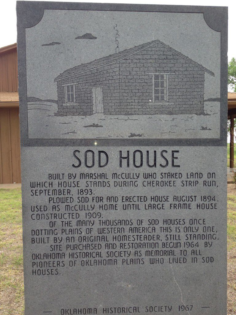 Sod House Oklahoma
