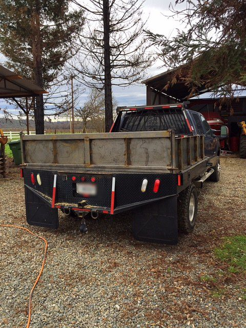 Welding Projects Flatbed Sideboards