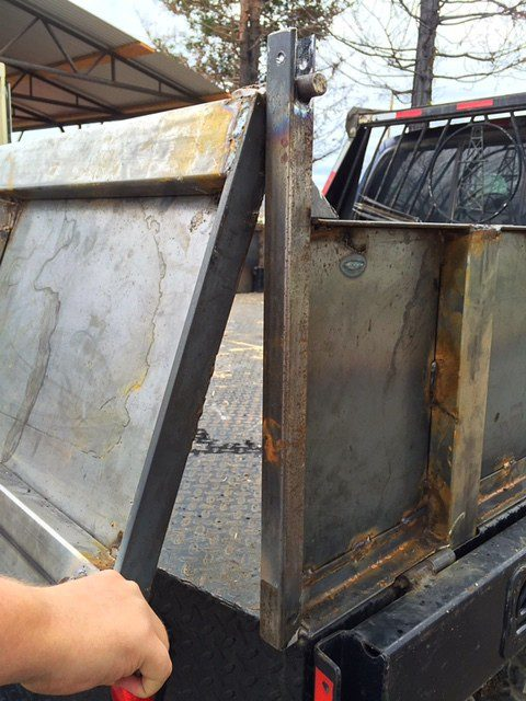 Welding Projects Dump Bed Sideboards