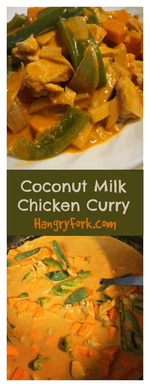 Coconut Milk Chicken Curry