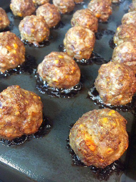 Easy Oven Baked Meatballs