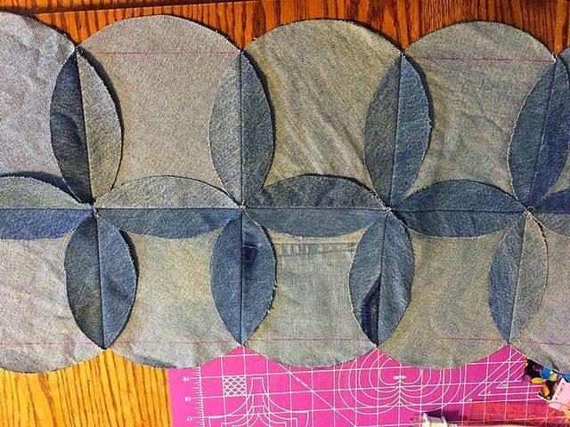 Denim Quilt Patterns Free : Denim I Spy Rag Quilt - Upcycle Old Jeans - Hangry Fork