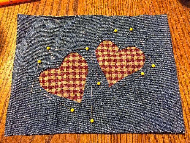 Heart Homemade Pot Holders