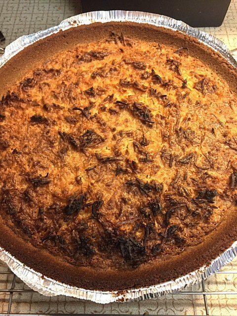 Hot Almond Joy Pie