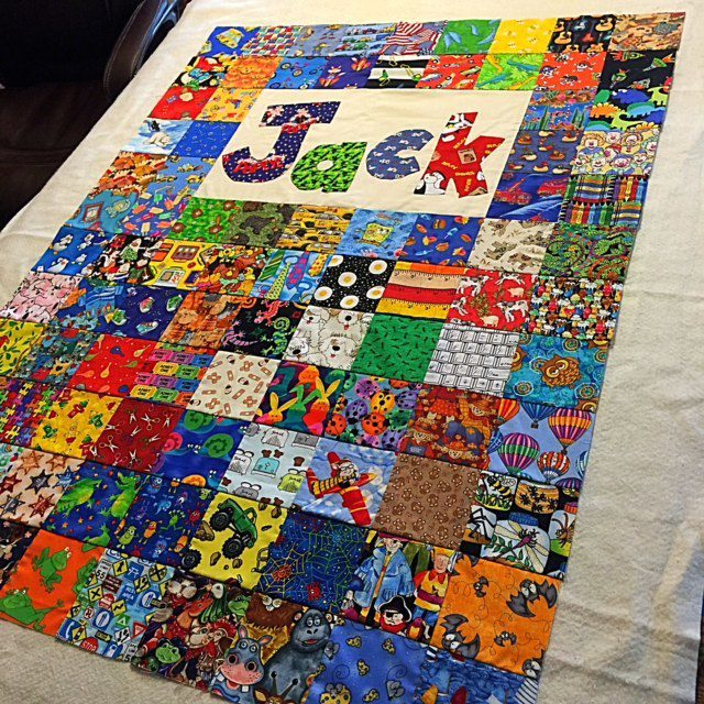 How to Paste a Quilt