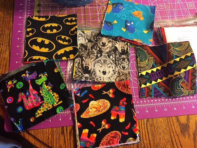 I Spy Fabric Squares eBay