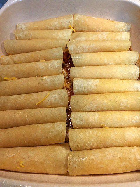 Rolled Cheese Enchiladas