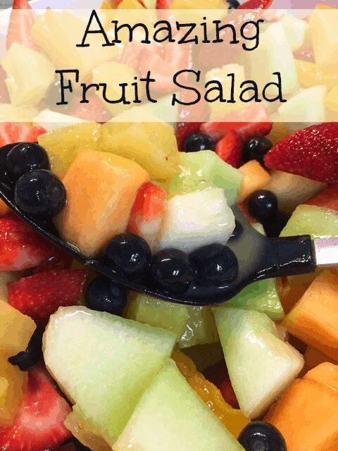 Secret Sauce Amazing Fruit Salad Recipe