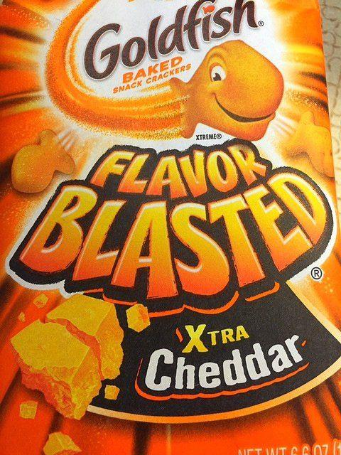 Xtra Cheddar Goldfish Recipe
