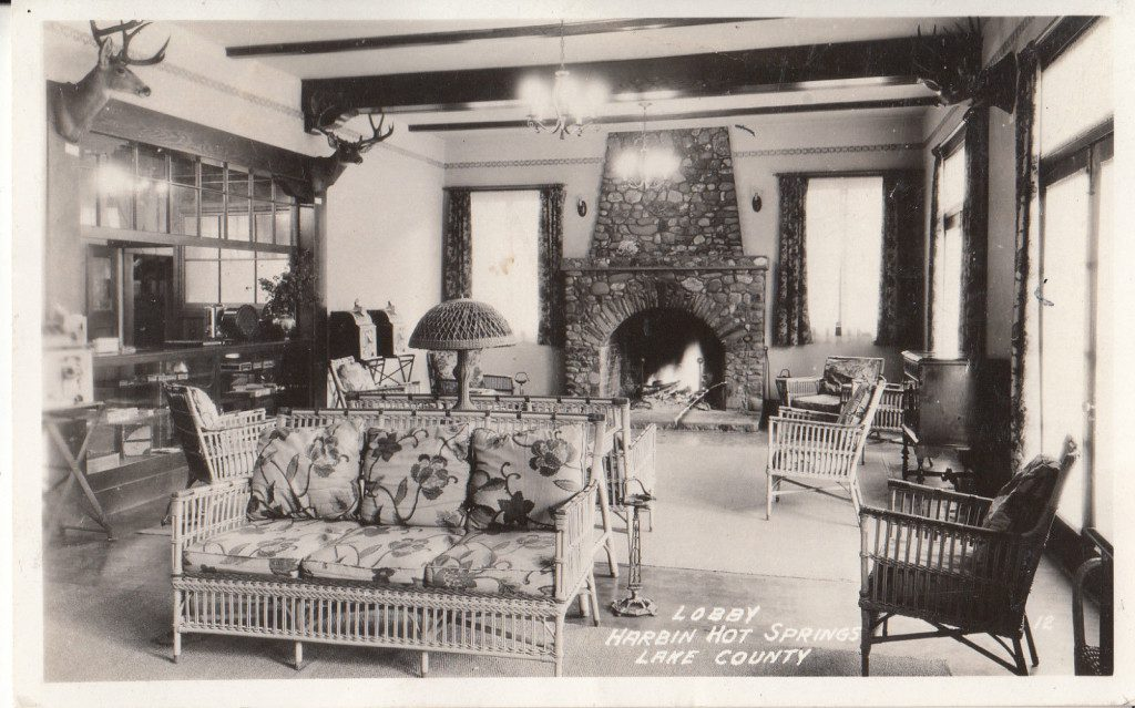 1933 Harbin Hot Springs Lobby