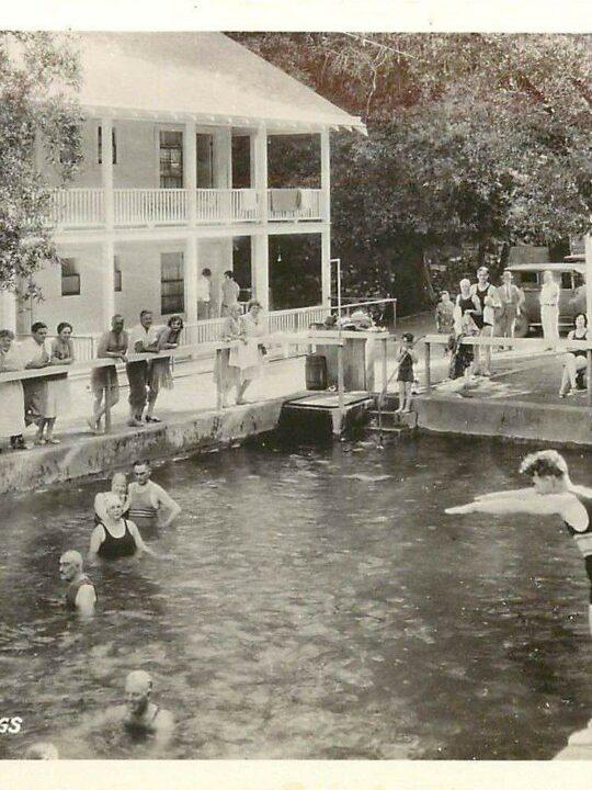 1925 Harbin Hot Springs Swimming Pool
