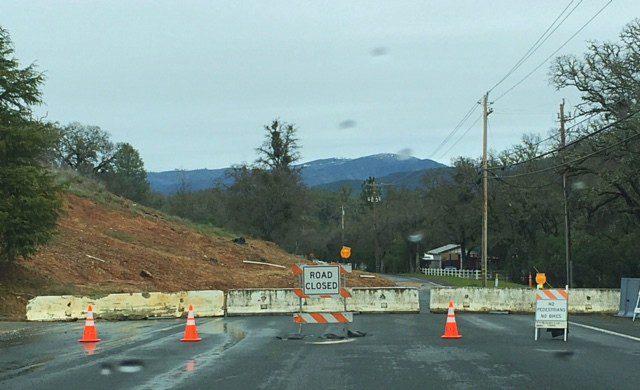 Lakeside Heights Lakeport Road Blocked