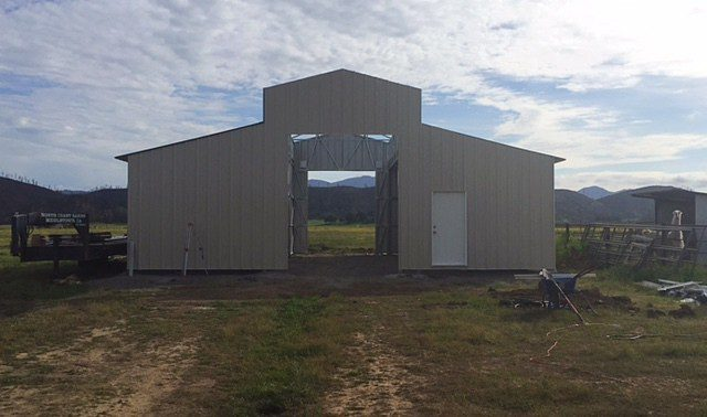 New Metal Barn