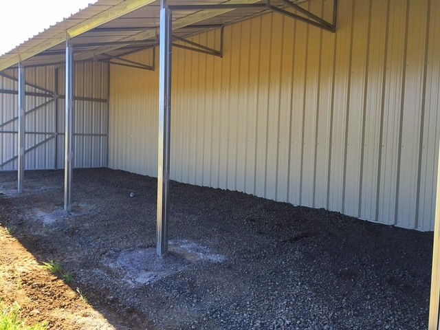 North Coast Barns New Barn
