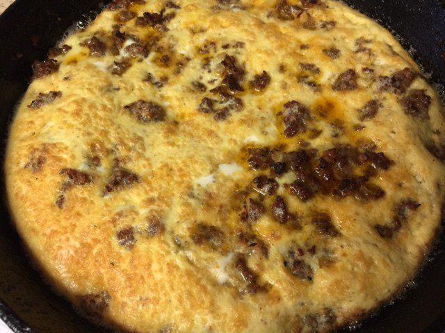 Oven Set Egg Quiche