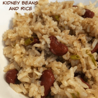 Rice Cooker Belizean Beans and Rice Recipe