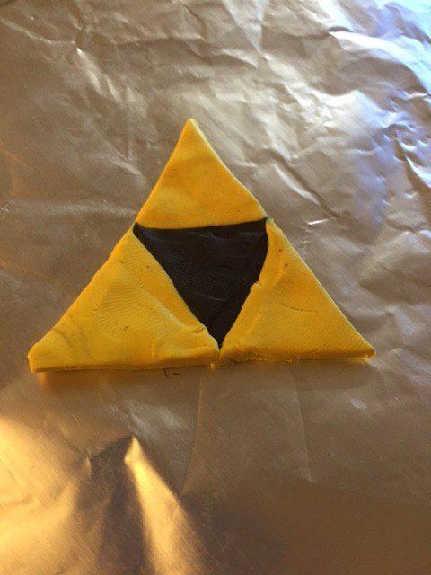 Zelda Triforce Modeling Clay