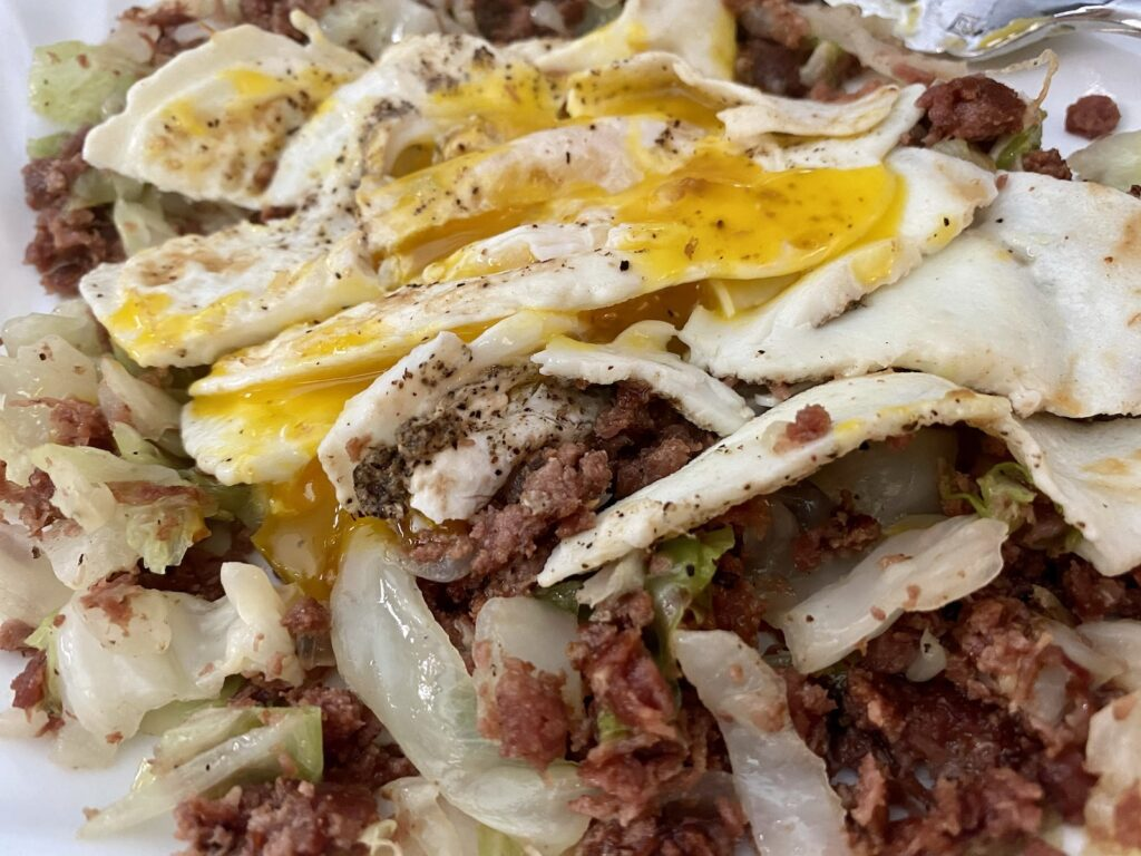 Low Carb Corn Beef Hash