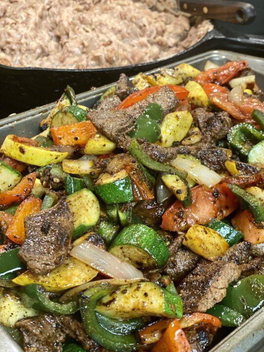 Blackstone Steak Fajitas Recipe
