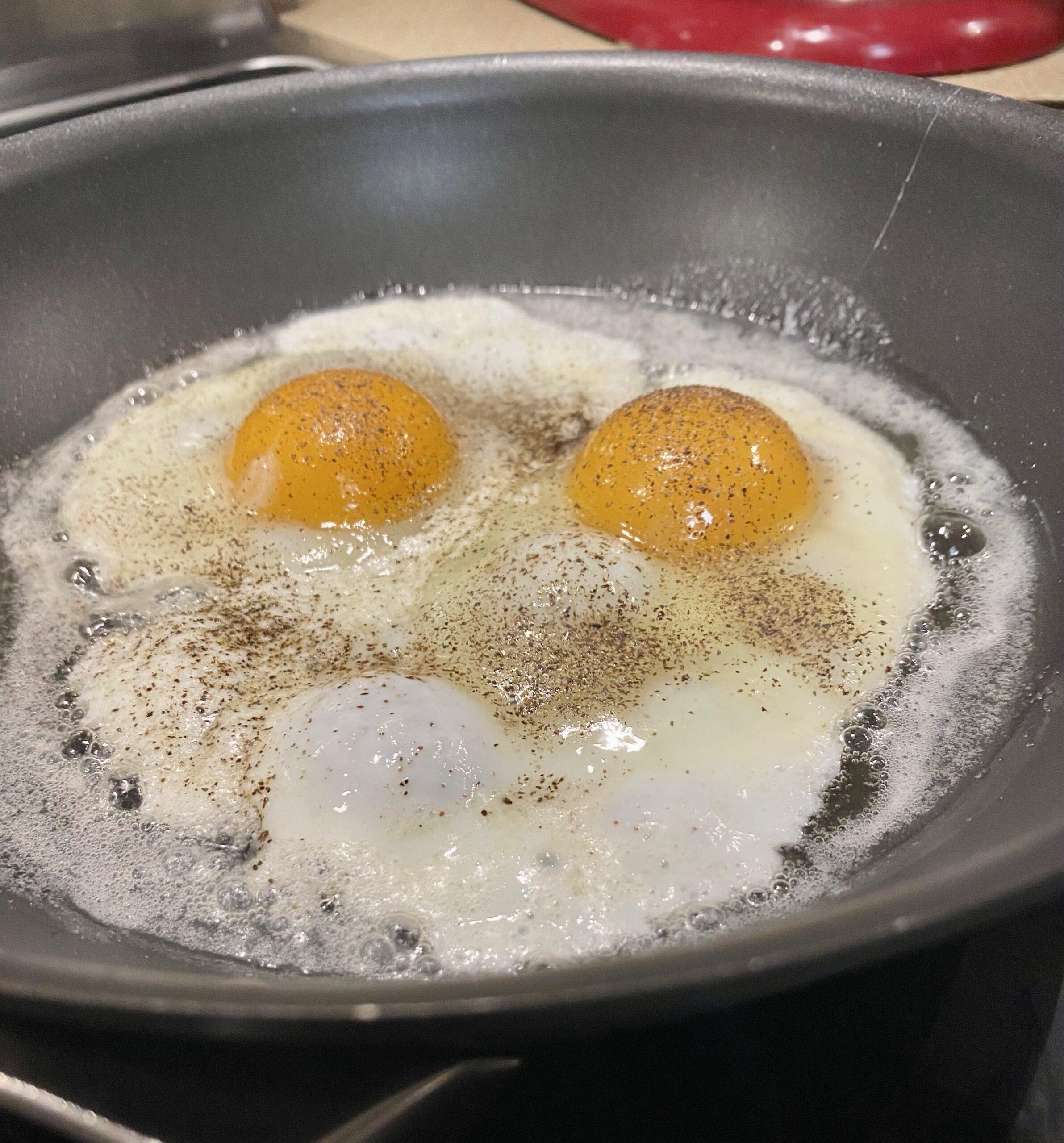 Fried Eggs Korean Beef Bowl Recipe