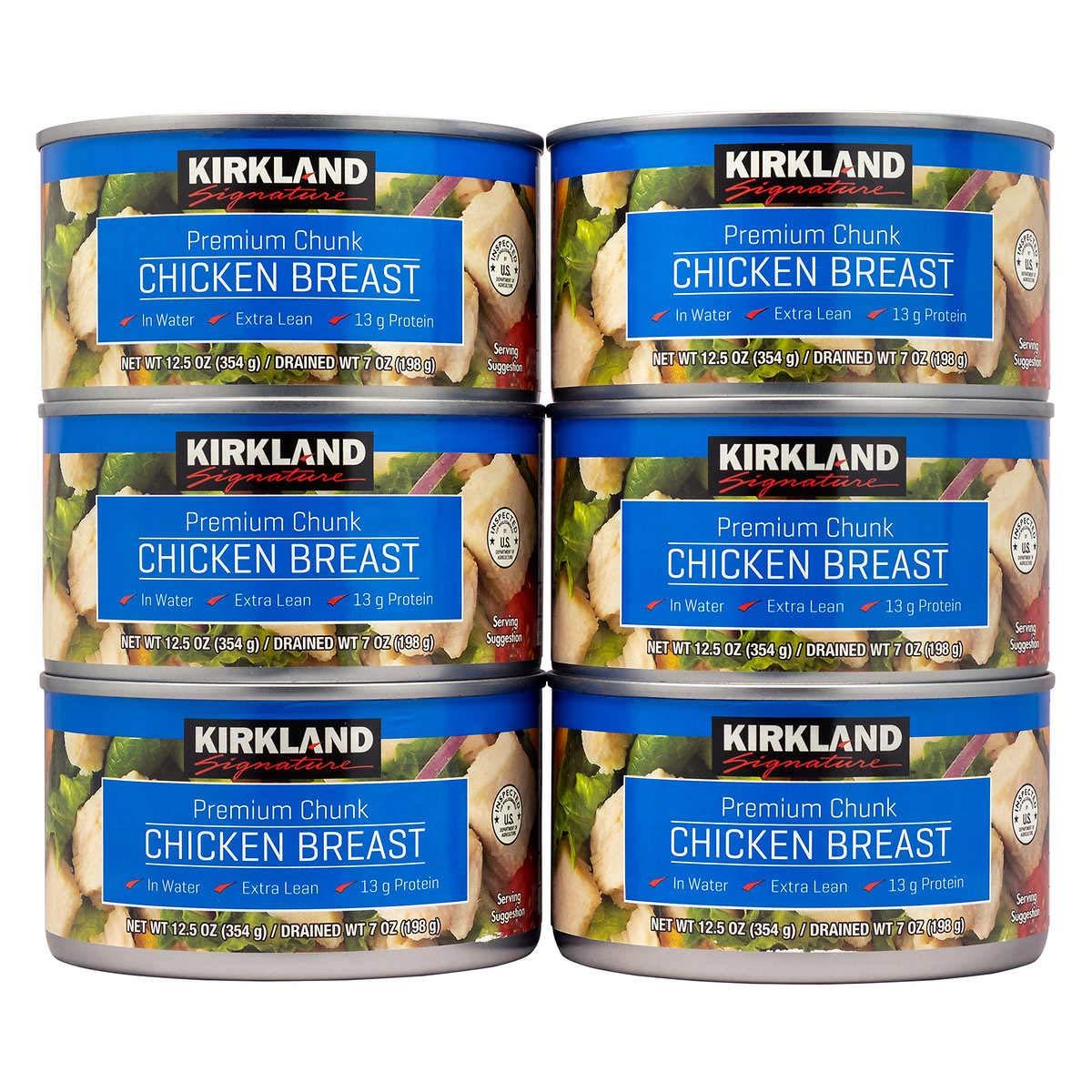 Kirkland Canned Chicken